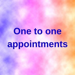 One to one Appointments